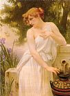 Guillaume Seignac Beauty At The Well painting